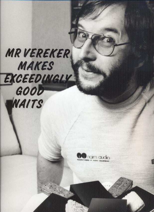 Julian Verekers makes exceedingly good naits