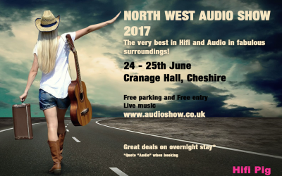 North West Audio Show at Cranage Hall….