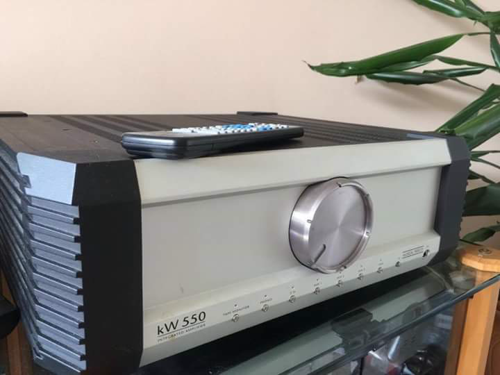 Musical Fidelity KW550 Amplifier For Sale