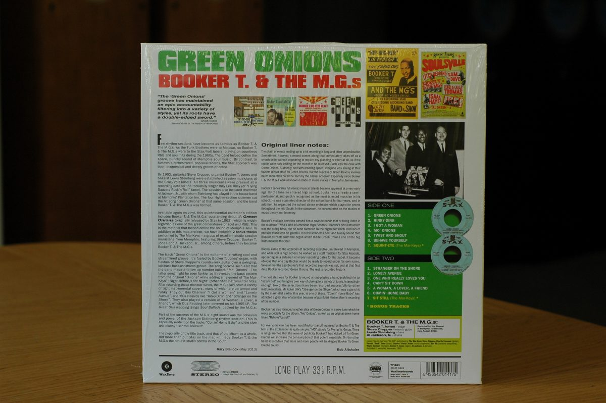Booker T. & The M.G.s- Green Onions