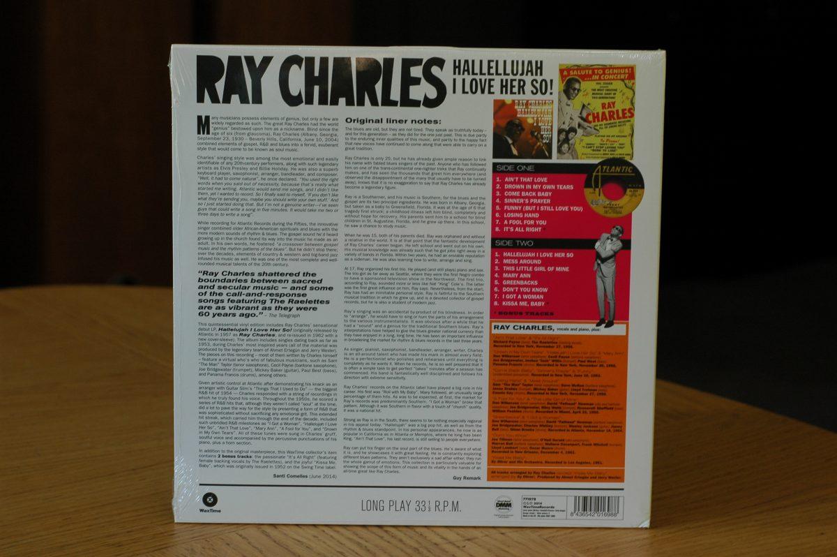 Ray Charles- Hallellujah I Love Her So