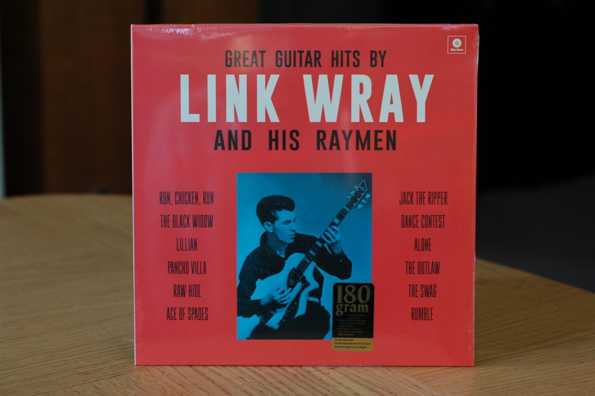 Link Wray and His Raymen- Great Guitar Hits