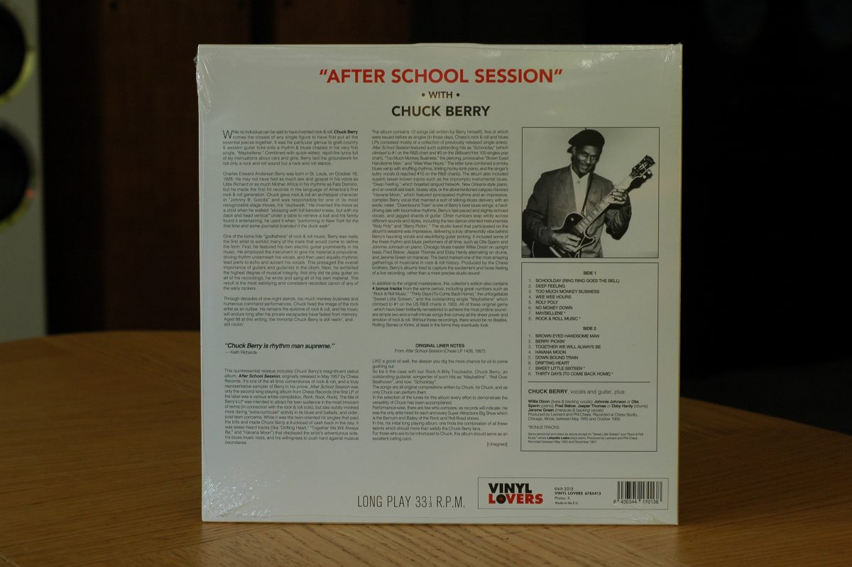 Chuck Berry- After School Session