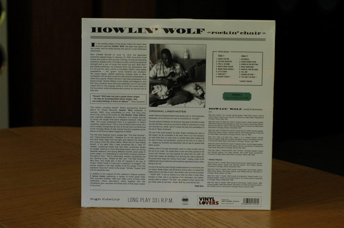 Howlin' Wolf- Rockin' Chair