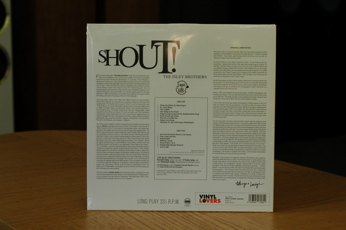 The Isley Brothers- Shout!