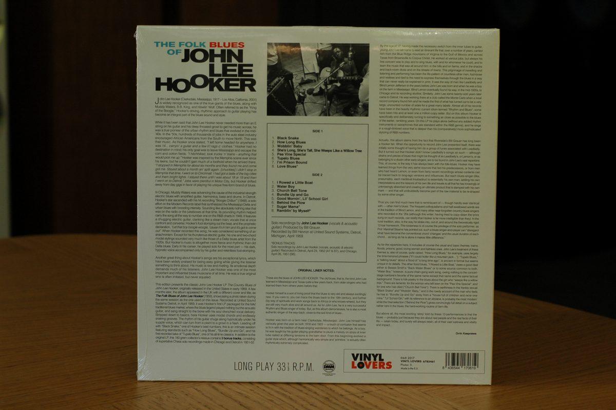 John Lee Hooker- The Folk Blues