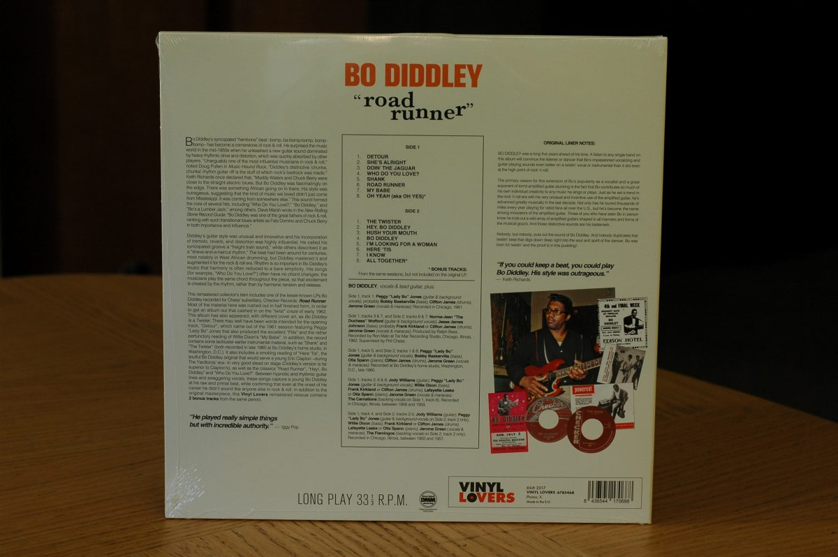 Bo Diddley- Road Runner