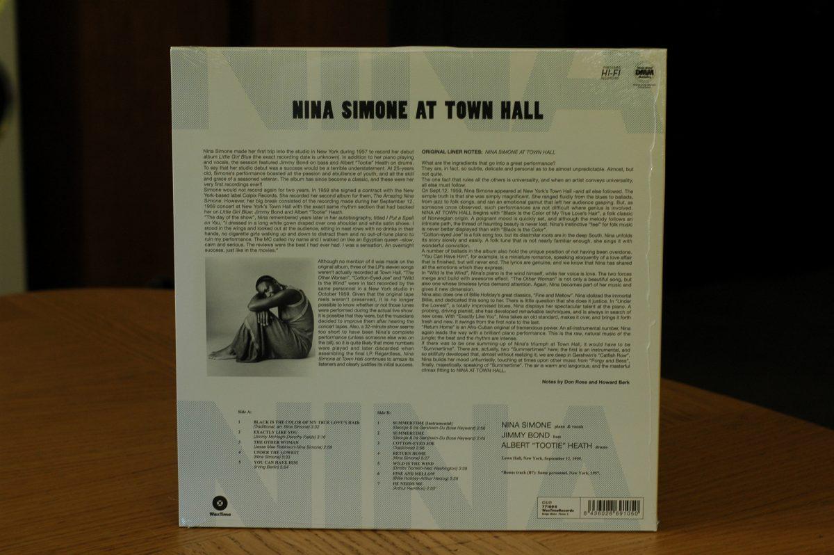 Nina Simone- At the Town Hall