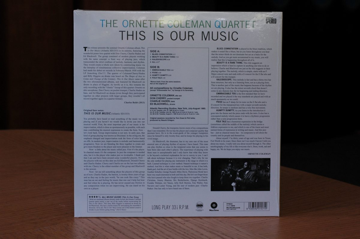 The Ornette Coleman Quartet- This Is Our Music