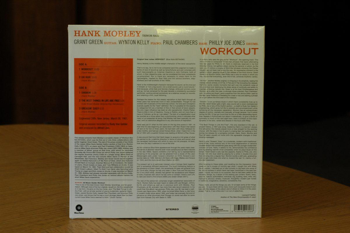 Hank Mobley- Workout