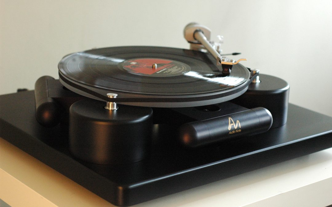 Audio Note's New TT3 Turntable!