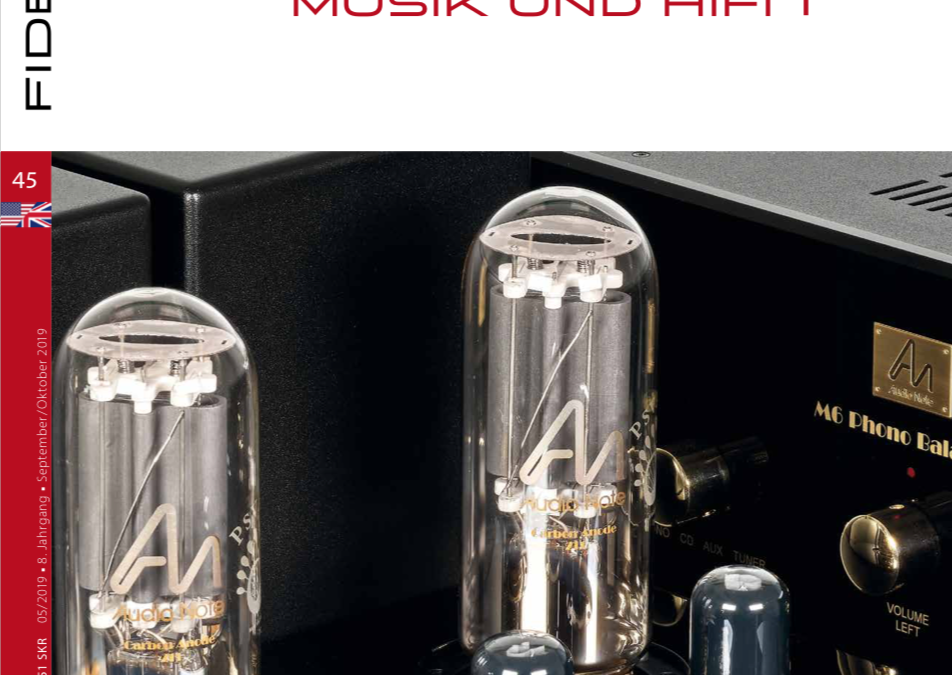 Fidelity Magazine Review of Audio Note Tomei Kensai and an M6