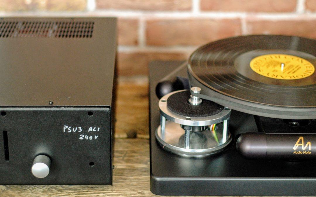 Introducing the Audio Note TT3 PSU-4